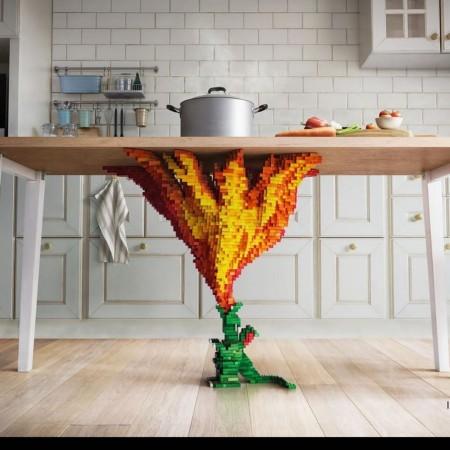 Burn that table! 🐲 🔥