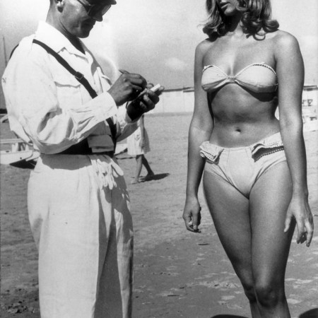 In 1957, you would get a fine if you wore a bikini