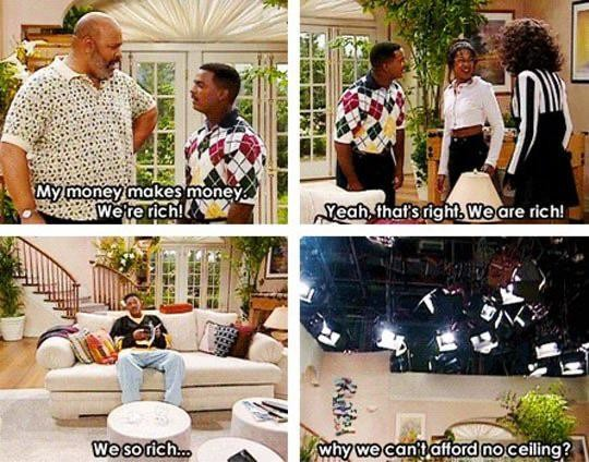 Remember this scene from the Fresh Prince?
