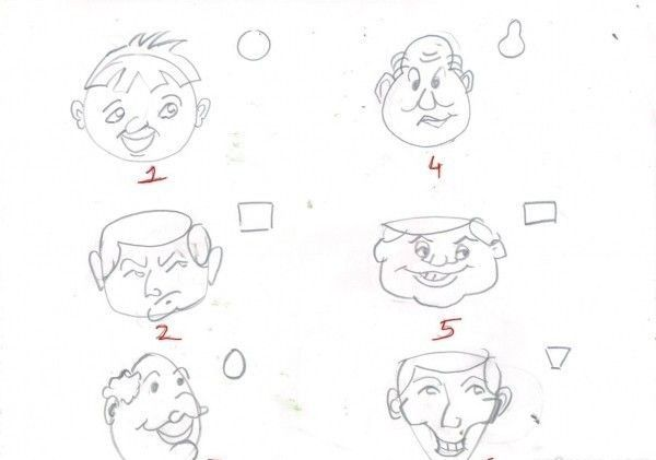 Drawing Tutorial How To Draw Cartoons Simple Tricks Drawing