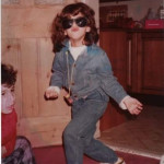 Me in 1994. Double denim cool