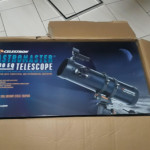 My long awaited telescope finally arrived! Can't wait to observe the shit out the night sky :)