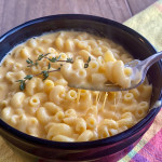 Homemade butternut squash Mac and cheese
