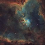 The Heart Nebula in SHO