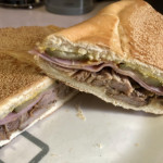 Cubano fresh roasted pork