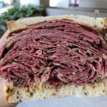 Pastrami from Sarge's Deli in NYC