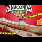 Anaconda Burrito Challenge