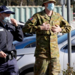 Australian Defence Force hit Sydney streets to help crack down on COVID-19 compliance