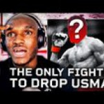 Kamaru Usman claims Michael Johnson is the only man to drop him