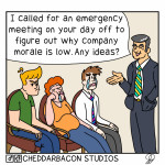 WhY iS cOmPaNy MoRaLe So LoW?!