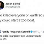 Might want to reread that bible