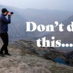 The worst photography advice I've ever heard