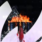 Naomi Osaka lights the flame for Tokyo2020