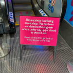 You had one job escalator