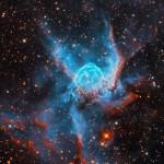 Thor's Helmet Nebula shot for 29hrs under dark skies