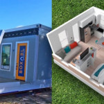 Check out this FOLDABLE $50K tiny house 🏠