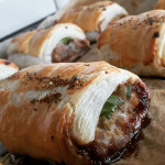 Used leftover Gyoza filling to make Japanese sausage rolls and my brain has exploded