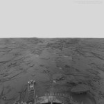 The surface of Venus from Venera 14 of the USSR