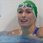 Tatjana Schoenmaker's reaction to realizing she just set a new world record