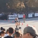His teammate broke his tibia during the race, but this bro helped him cross the finish line (despite being Disqualified for helping him