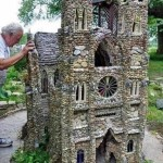 Church built entirely with small pebbles