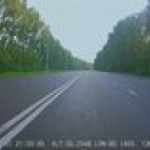 Dodging a SUV at 150mph