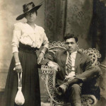 Couple in Harrisburg, PA, 1910s