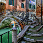 Quite place in Venice, Italy