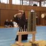 Tameshigiri Master demonstrates how lethal Katana could be with proper technique and skills