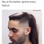 The new hairstyle trend