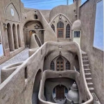 Traditional Persian Architecture in Kashan Iran