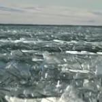 Turkey's Icy waves in Çıldır Lake