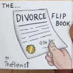 The perfect divorce flipbook