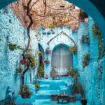 Morocco's blue pearl