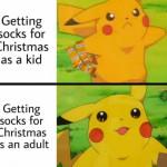 Especially fuzzy socks