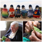 Australia's Oldest Man Knits Tiny Sweaters For Injured Penguins. Doll-sized sweaters were intended to protect penguins after an oil spill