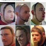 Circle beards