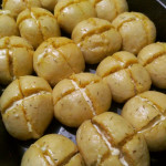 Korean creamcheese garlic bread
