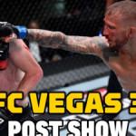 UFC Vegas 32 post-fight show