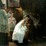 The first and last communion, a painting by Venezuelan artist Cristobal Rojas