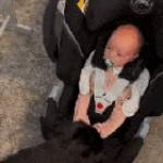 Baby Drops Pacifier In Shock