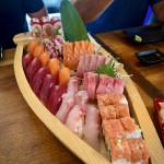 Sushi for dinner