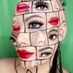 This make-up art