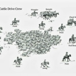 The cattle drive crew. Source: found it on a cowboyish FB page