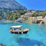 Scenery in Capri Italy