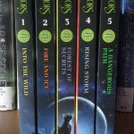 Book series' with spines like these