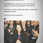 New Zealand handles Corona correctly
