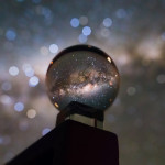 Milky Way through a crystal ball