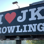 This billboard was taken down in BC because it was promoting 'hate'