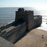 So this is where the great wall of China meets the water